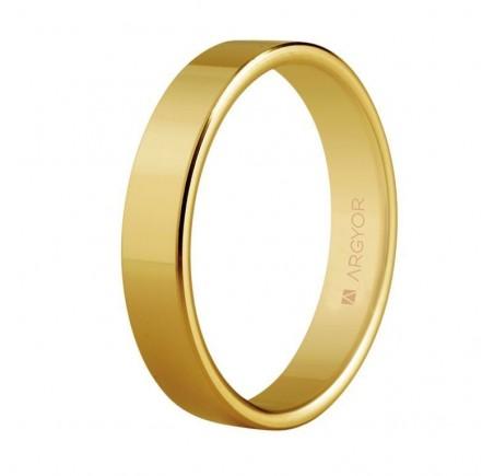 Aliança de casament clàssica plana 4mm (5140150)