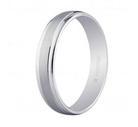Alianza de casament or blanc 4mm (5B40044)