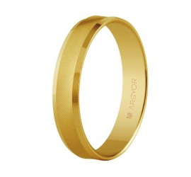 Alianza de boda de oro 4mm (5140308)